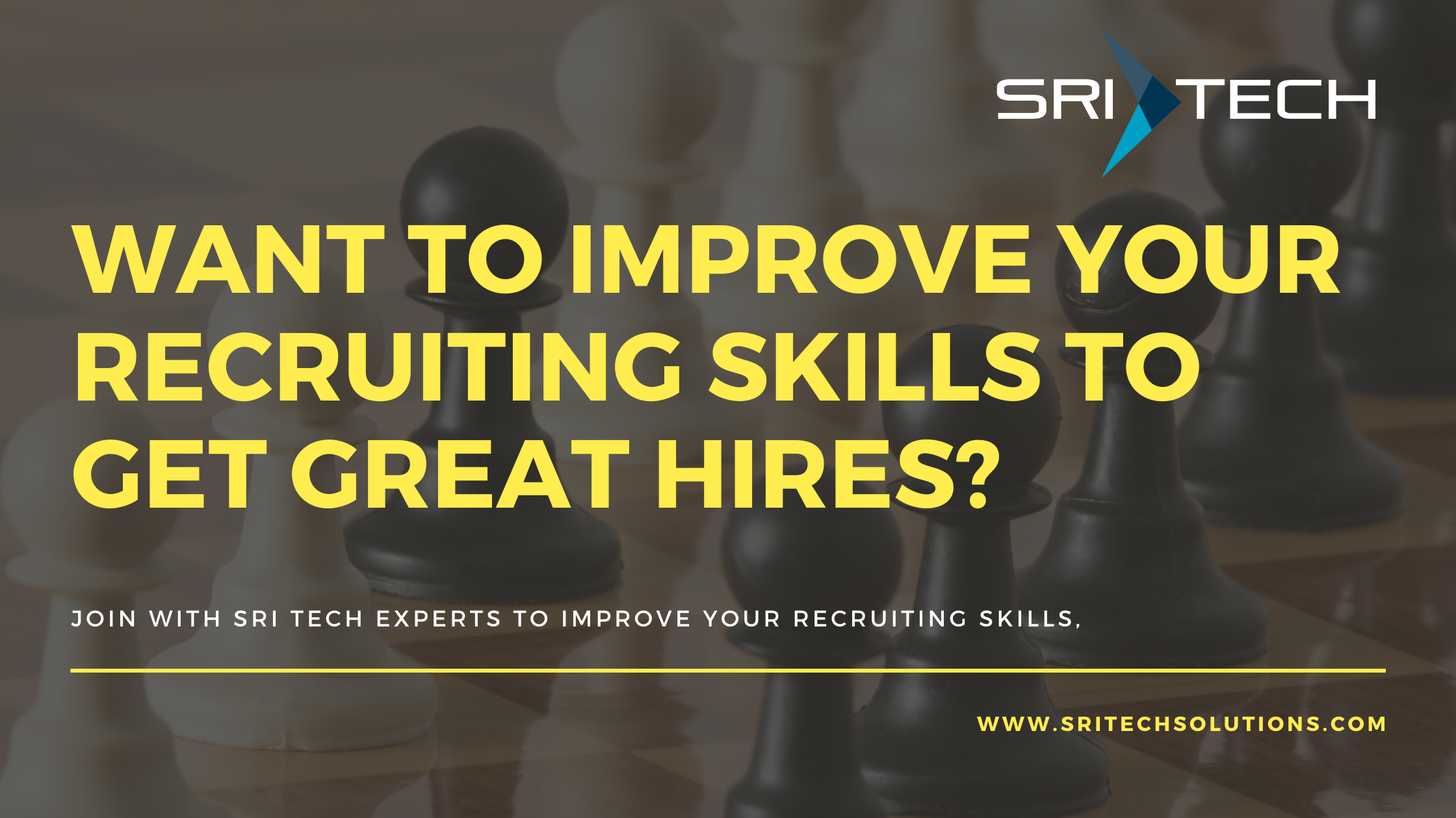 Want to Improve your Recruiting Skills?